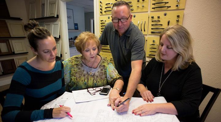 Image of Barbara and Design Team